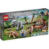 樂高積木 LEGO《 LT75941 》Jurassic World 侏儸紀世界系列 - Indominus Rex vs. Ankylosaurus