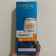 L'Oreal Paris 巴黎萊雅 完美UV全效防護隔離乳液30ml SPF50(膚)