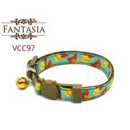 【VCC97】成貓安全項圈(S) 安全插扣 防勒 貓項圈 鈴鐺 范特西亞 Fantasia