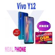 [Handphone/HP] VIVO Y12 3/64 GARANSI RESMI