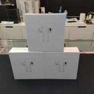 APPLE AirPods 2代 藍牙無線耳機 有線/無線充電盒 全新未拆封台灣公司貨
