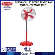 EUROPACE RETRO STAND FAN * 16-INCH * ERF7161T * 8 YEARS WARRANTY ON MOTOR *
