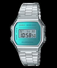 【CASIO】【男錶】【數位顯示錶】A168WEM-2 台灣公司貨 保固一年 附原廠保固卡