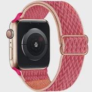 Scrunchie ไนลอนสำหรับ Apple Watch Band 44มม.40มม.42มม.38มม.ปรับยืด Solo Loop ยืดหยุ่น IWatch Series SE 6 5 4 3