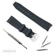 Rubber Watch Band Watchband for Rolex Yacht Master Submariner GMT
