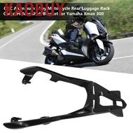 Kaobuy CNC Aluminum Alloy Motorcycle Rear Luggage Rack Cargo Holder Shelf Bracket for Yamaha Xmax 300