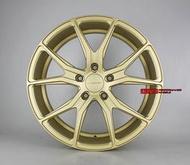 【美麗輪胎舘】類美國V牌鋁圈 18吋 全車系適用 前後配鋁圈 消光金~量產顏色 銀色跟灰色