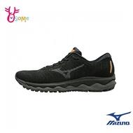 Mizuno慢跑鞋 男鞋 WAVE SKY WAVEKNIT 3 運動鞋 跑步鞋 路跑 馬拉松 美津濃 I9255#黑色◆奧森
