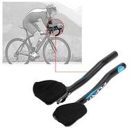 OUtdoor Bike Bars Carbon Fiber Road Bike Bicycle Aero Bar Rest Handlebar Aerobar 31.8mm