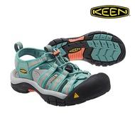 CodEX= KEEN NEWPORT 編織彈性綁繩護趾防水包頭涼鞋(綠橘黑) 1014198 拖鞋 SANDALS 女