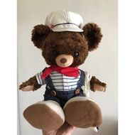 達菲 衣服+大學熊