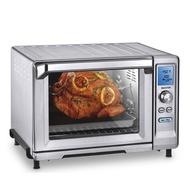 美國Cuisinart 美膳雅微電腦不銹鋼旋風式烤箱 TOB-200TW