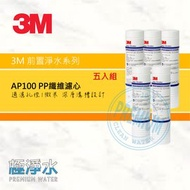 3M AP100 PP纖維濾心【五入組】│極淨水