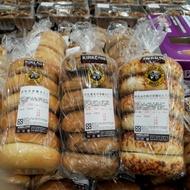 【 免運、限時、特價 】當天買 當天寄 代購 Costco 貝果 麵包 乳酪 藍莓 肉桂葡萄 原味【任選二條】
