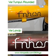 Cutting Sticker Frame Bicycle Fnhon Gust Special Emboss