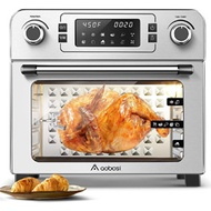 Toaster Oven Aobosi Electric Air Fryer Oven Toaster Air Fry Convection Oven Digital Countertop Rotis