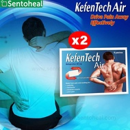 KefenTech Air plasters 8pcs [BUNDLE OF 2] - Pain relief patches from Korea