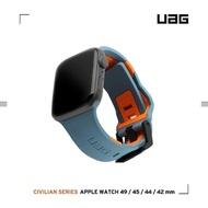 【UAG】Apple Watch 42/44mm 簡約舒適錶帶-藍(UAG)