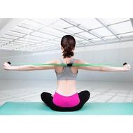 POW แถบยางยืดโยคะเชือกยางแขนออกกำลังกายแบบใช้แรงต้านการออกกำลังกายพิลาทิสโยคะ