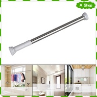 Tension Rod  Adjustable Tension Curtain Rod for Curtains and Sheer Curtains, Closet Clothing Hanging Rod