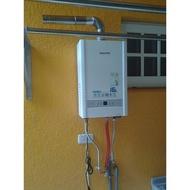 ★櫻花牌苗栗縣特約經銷商★ 16公升DH1637A(SH-1637) 數位恆溫 強制排氣 熱水器