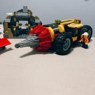 LEGO樂高60186城市系列重型采礦場鉆孔機專家基地積木10875玩具男