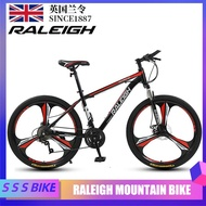 RALEIGH Mountain Bike Variable Speed Male and Female Adult Cross Country Race Car Student Double Shock Absorption Light Bike