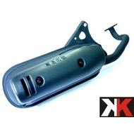 K-TWO零件王.全新原廠型排氣管..勁風-50/JOG-50/PRO-50/小玩子-50/小豆子-50