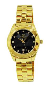 ROSCANI Ladies Gold Tone Dress Watch BLB66553