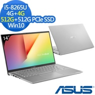 ASUS X412FA 14吋筆電 i5-8265U/8G/1024G/Win10特