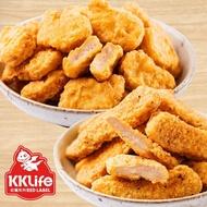 【KKLife-紅龍】超人氣雙拼炸物 5袋組(2包/袋) (雞塊/雞柳條)