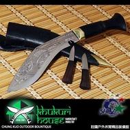詮國 - Khukuri House 廓爾喀 / 廓爾克手工刀具 / 8吋迷你雕刻龍型灣刀 / AM-2005