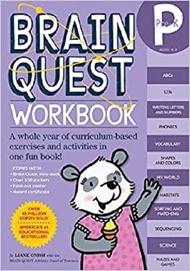 Workman Publishing - Brain Quest Workbook: Pre-K (Ages 4-5)