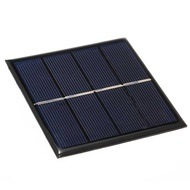 Smart Solar Battery Carger 1W/2V Solar Charger for 1.2V AA Rechargeable Battery Polycrystalline Silicon Epoxy Solar Pan