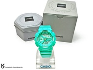 [30%OFF] kumastock 2016 最新 46mm 錶徑 貼合女性手腕曲線 CASIO G-SHOCK GMA-S110VC-3ADR BRIGHT VIVID COLOR 湖水綠 S SERIES FOR LADIES 女孩專用 !