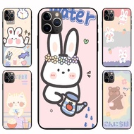 IPhone12 Pro Max 12mini  12 / 12 Pro Watering bunny Casing Soft Case Cover