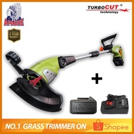 APACHE TurboCUT® ZF3184 18V 1000W | Cordless Rechargeable Electric Grass Lawn Trimmer | Mesin Rumput | Brush Cutter