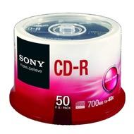 SONY CD-R 48X 700MB 白金片桶裝 (100片)