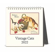 Cavallini 2022 桌曆 貓 Cats