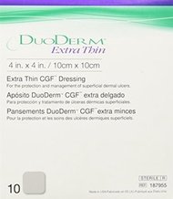 ▶$1 Shop Coupon◀  ConvaTec DuoDERM Extra Thin CGF Dressings 4 X 4 Inches 187955 10 Each