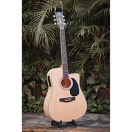 Mavey Acoustic Guitar Baybayin 18'Inches with Builtin 4 way Equalizer