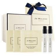 Jo Malone 針管香氛洗潤聖誕禮盒組(針管X2+潔膚露X2+潤膚霜)-多款任選[附限量緞帶+提袋]
