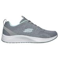 Shoestw【13043GYMN】SKECHERS 運動鞋 SKYLINE AIR-COOLED 灰蒂芬妮綠 針織 記憶鞋墊 女生尺寸