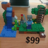 【邊緣人】創世神 Minecraft 樂高 積木 模型 苦力帕 終界使者安德 探險活寶 阿寶 檸檬公爵 艾薇兒