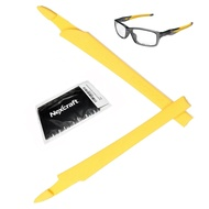Nexcraft® Crosslink YELLOW Ear Sock Rubber Sleeve Unobtainium Oakley Replacements Kit Temple Arm Model Switch Pro Sweep Eyewear Glasses OX8027 OX8029 OX8030 OX8031 OX8033 OX3128 OX3149 Prescription Replacement Kit