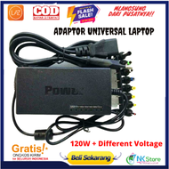 Adaptor Laptop Universal / Cas Charger Laptop Notebook Universal / Laptop AC Universal Power Adapter Charger for ASUS DELL Lenovo Sony Toshiba Laptop