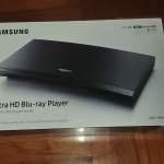 全新Samsung 4K UHD 藍光影碟播放機