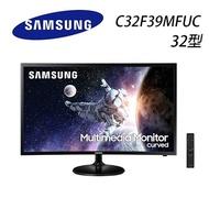 SAMSUNG三星 C32F39MFUC 32型 曲面多媒體顯示器(VA面板/內建立體聲喇叭/HDMI)