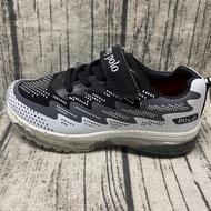 金英鞋坊~JIMMY POLO 童款岩石紋編織氣墊運動慢跑鞋 96038-黑特賣198元