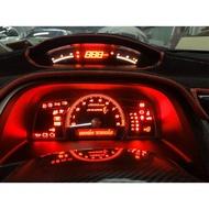 喜美八代 K12 civic 客製化儀表板 冷氣面板 燈泡改色 提升亮度